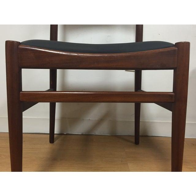 Image of Italian Mahogany Dining Chairs - Set of 4