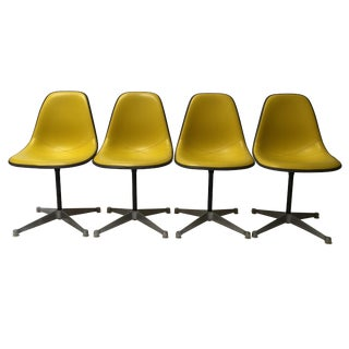 Herman Miller Fiberglass Side Chairs - Set of 4
