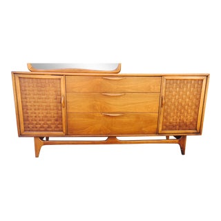 Lane Perception Credenza & Mirror