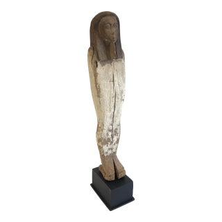 Vintage Egyptian Sarcophagus Model