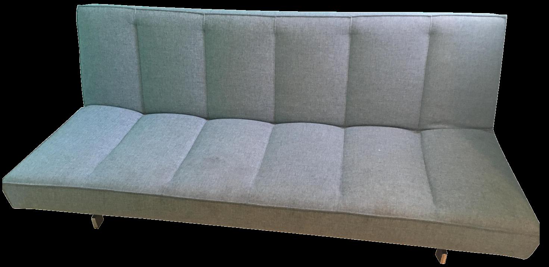 CB2 Flex Blue Sleeper Sofa