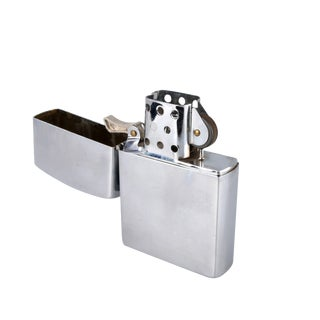 Giant Brushed Metal Lighter