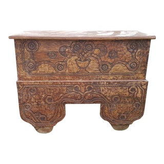 Antique Balinese Storage Trunk