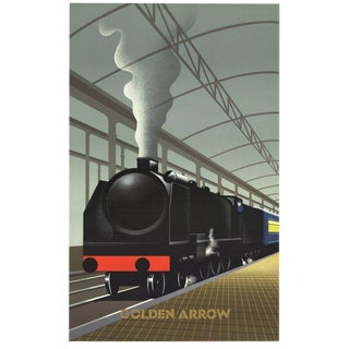 Pierre Fix Masseau Golden Arrow 1989 Lithograph
