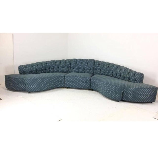 1930's Regency Sectional With Ottoman - A Pair - Image 7 of 7