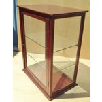 Image of 19th C. English Mahogany Counter Top Display Case