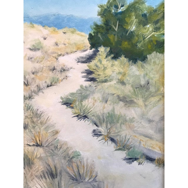"Image of ""Meandering Across the Mesa"" Oil Painting"