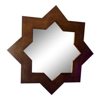 Surya Moroccan Star Gold Foil Mirror