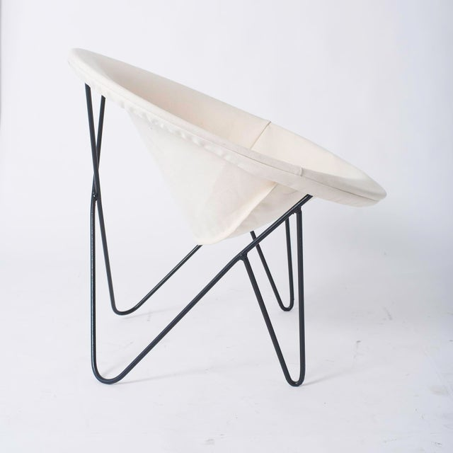 Single California Modernist Hoop Chair with Hairpin Legs - Image 3 of 5