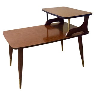 Mid-Century Lane-Style Lacquered End Table