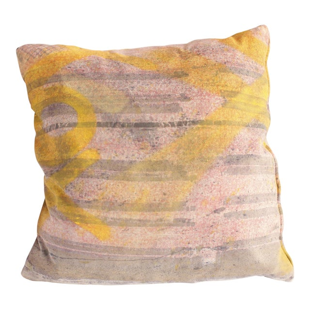 ABC Carpet and Home Graffiti Pillow - Image 1 of 7