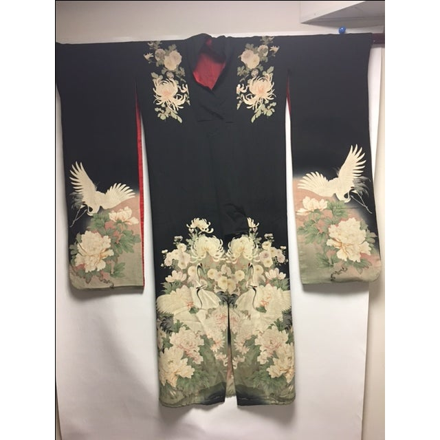 1940's Silk Screened Adult Kimono - Image 2 of 11