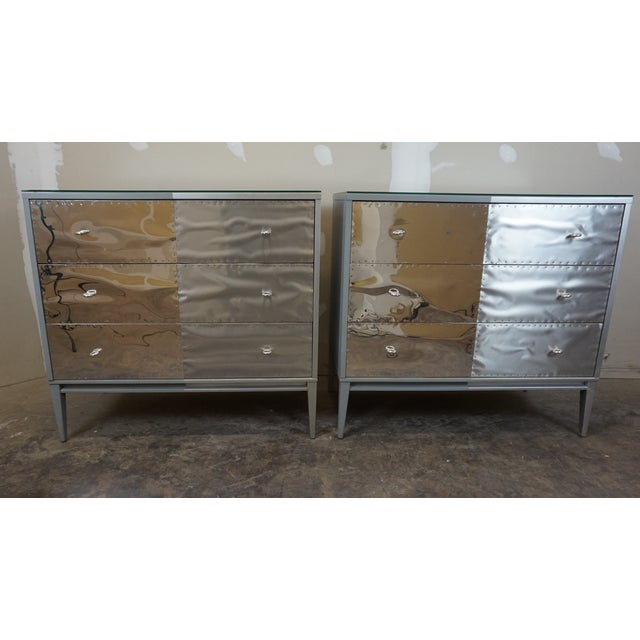 Paul McCobb Planner Group Brutalist Revision Dressers - A Pair - Image 10 of 10