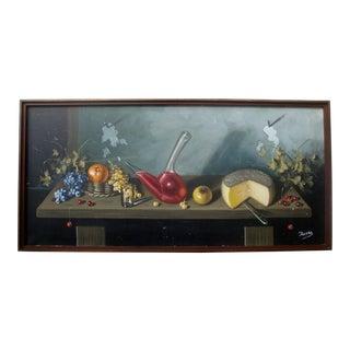 Trompe L'Oeil Tablescape Painting