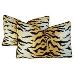 Image of Designer Ann Sutherland City Kitty Pillows - Pair