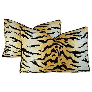 Designer Ann Sutherland City Kitty Pillows - Pair