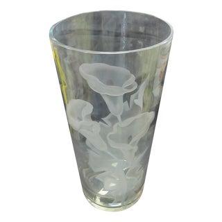 Mid-Century Art Glass Vase by Franz Grosz