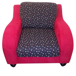 Ultrasuede Thayer Coggin Club Chair