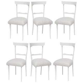 1950s Italian Dining Chairs in the Style of Ico Parisi - Set of 6