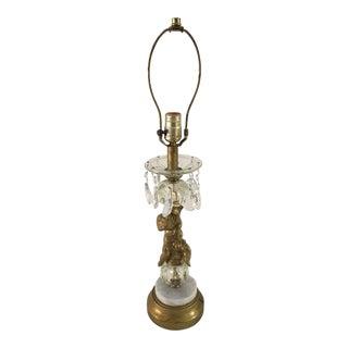 Vintage Hollywood Regency Cherub Table Lamp