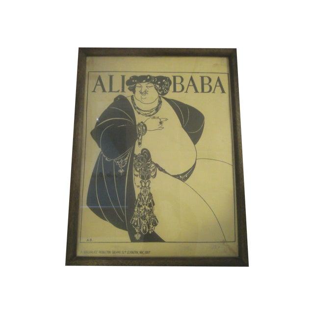 """Aubrey Beardsley """"Ali Baba"""" Print - Image 1 of 8"""