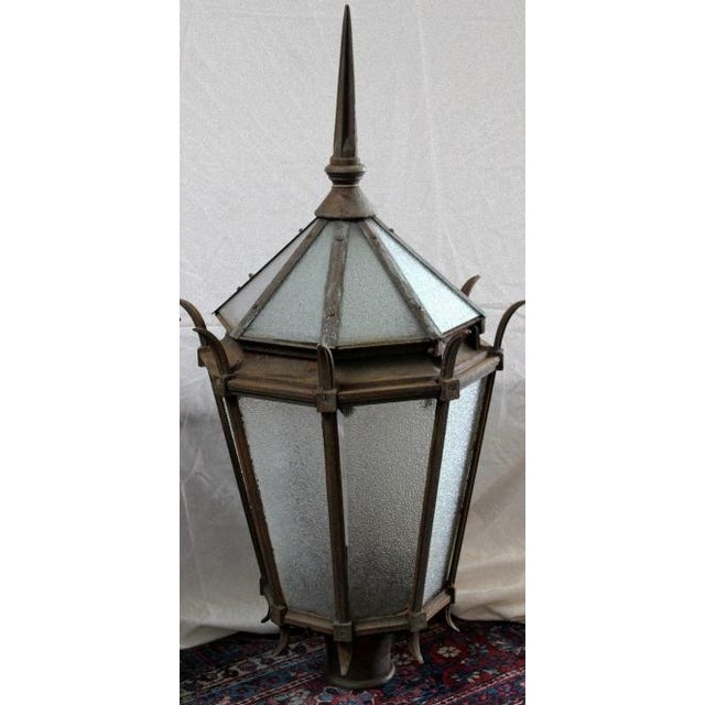 Vintage Cast Iron Street Lamps A Pair Chairish