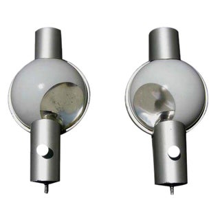 Henry Dreyfuss 20th Century Limited Train Wall Sconces