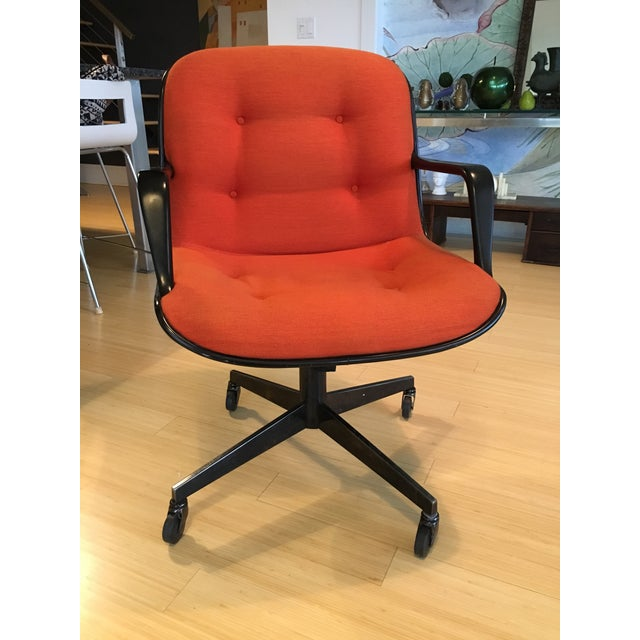 "Steelcase Rolling ""Pollack"" Swivel Office Chairs - Image 6 of 11"