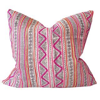 Vintage Hmong Pillow 20x20