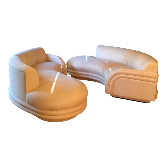 Mint Vladimir Kagan Cloud Sofas - A Pair - Image 1 of 11
