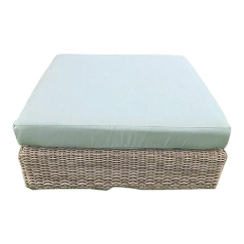 Kingsley Bate Outdoor Ottoman - Image 1 of 8
