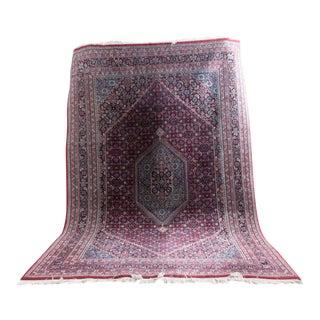 Vintage Bidjar Carpet Rug - 6' x 9'