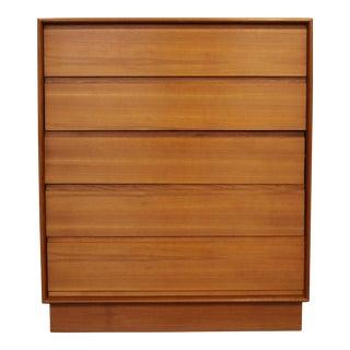 Danish Teak Plinth Base Dresser