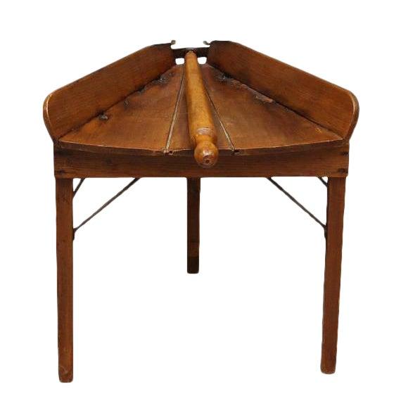 Image of Antique Primitive Dough Rolling Table
