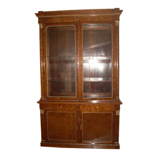 19th C. French Breakfront Cabinet