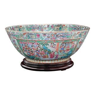 Chinese Rose Medallion Bowl
