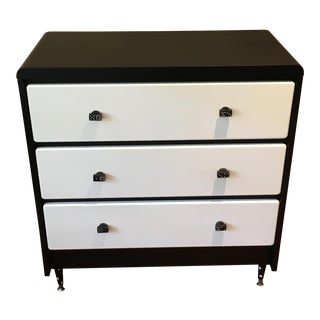 Black & White Domino Effect Dresser