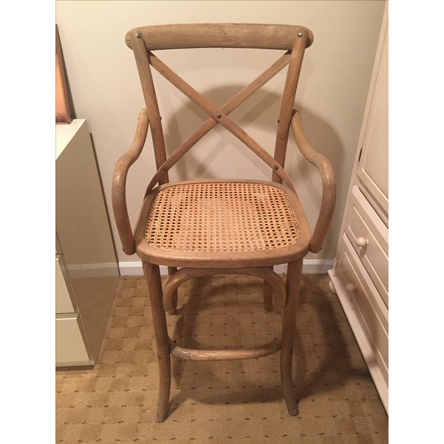 Restoration hardware madeleine counter stool chairish - Madeleine bar stool ...