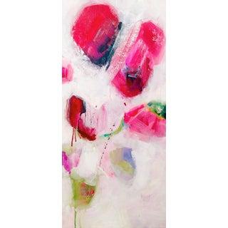"""Bougainvillea I"" Acrylic Painting"