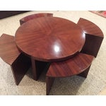 Image of Ralph Lauren Coffee Table & Four Nesting Tables