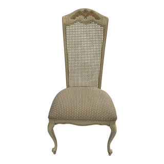French Provincial Cane Back Side Chair