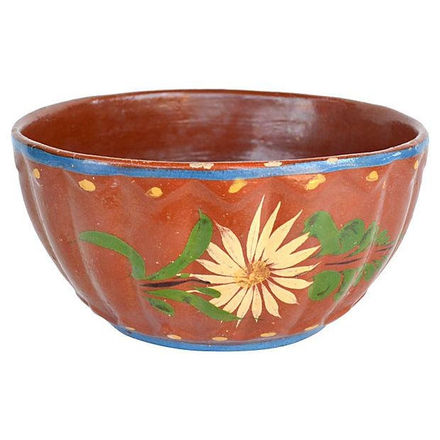 Image of Daisy Red Ware Bowl