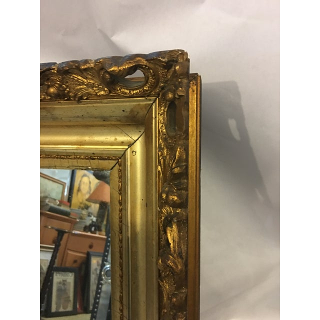 Carved Gold Framed Mirror - Image 8 of 8