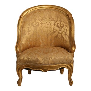 19th Century French Reupholstered Louis Philippe Child Armchair