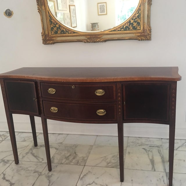Antique Federal Style Inlaid Sideboard - Image 2 of 11