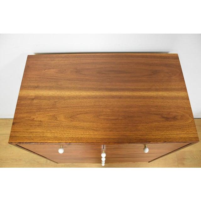 Image of Kipp Stewart for Drexel Walnut Dresser
