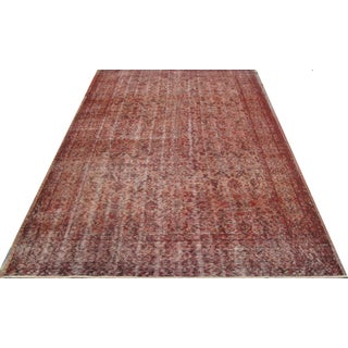 Vintage Overdyed Turkish Rug - 5′5″ × 9′2″