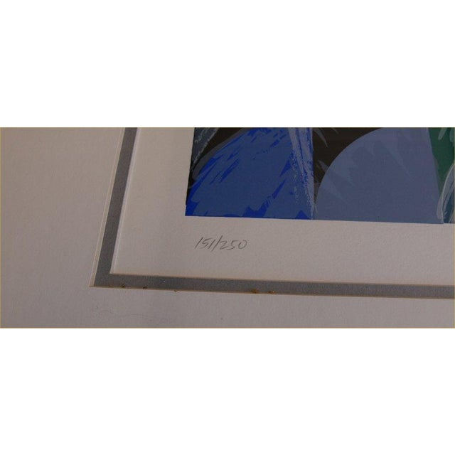 """Ann Thornycroft Abstract Lithograph Titled """"Anel"""" - Image 6 of 6"""