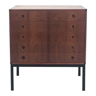 Vintage Danish Rosewood Lowboy Chest