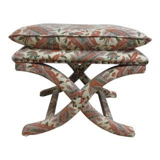 Custom Upholstered Ottoman Stool